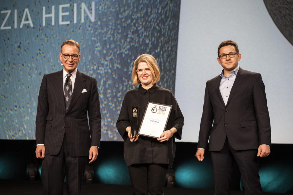 Luzia Hein Newcomer 2019 auf der Bühne