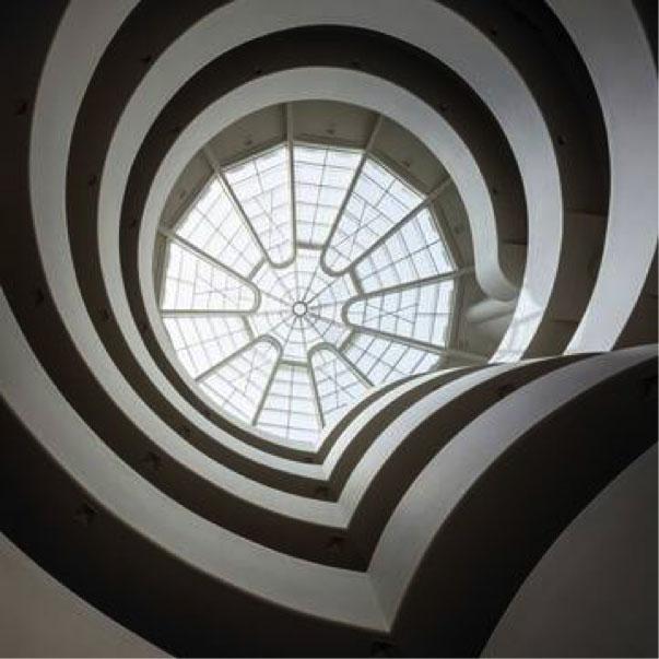 Blick in die Rotunde des New Yorker Guggenheim Museums, © Solomon R. Guggenheim Museum, Foto: David Heald