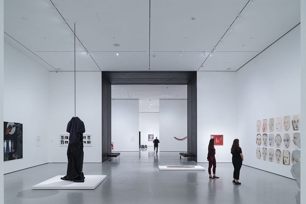 Installation View of David Geffen Wing gallery 206, Transfigurations, The Museum of Modern Art. © Iwan Baan, Courtesy of MoMA