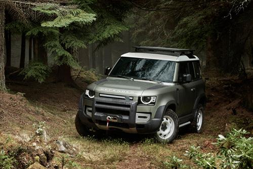 Land Rover Defender beschrietet neue Wege im Automotive Design
