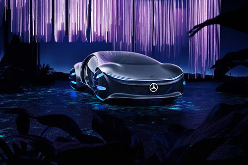 Das Automotive Design der Mercedes-Benz-Studie