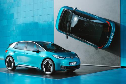 Automotive Design: Mit dem vollelektrischen Kompaktwagen ID.3 stellt Volkswagen den ersten Vertreter einer neuen Generation