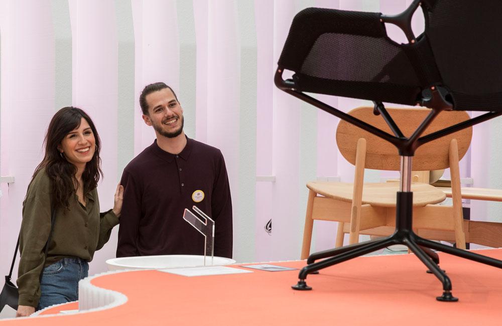 Ausstellung des Newcomer Wettbewerbs ein&zwanzig, Mailand