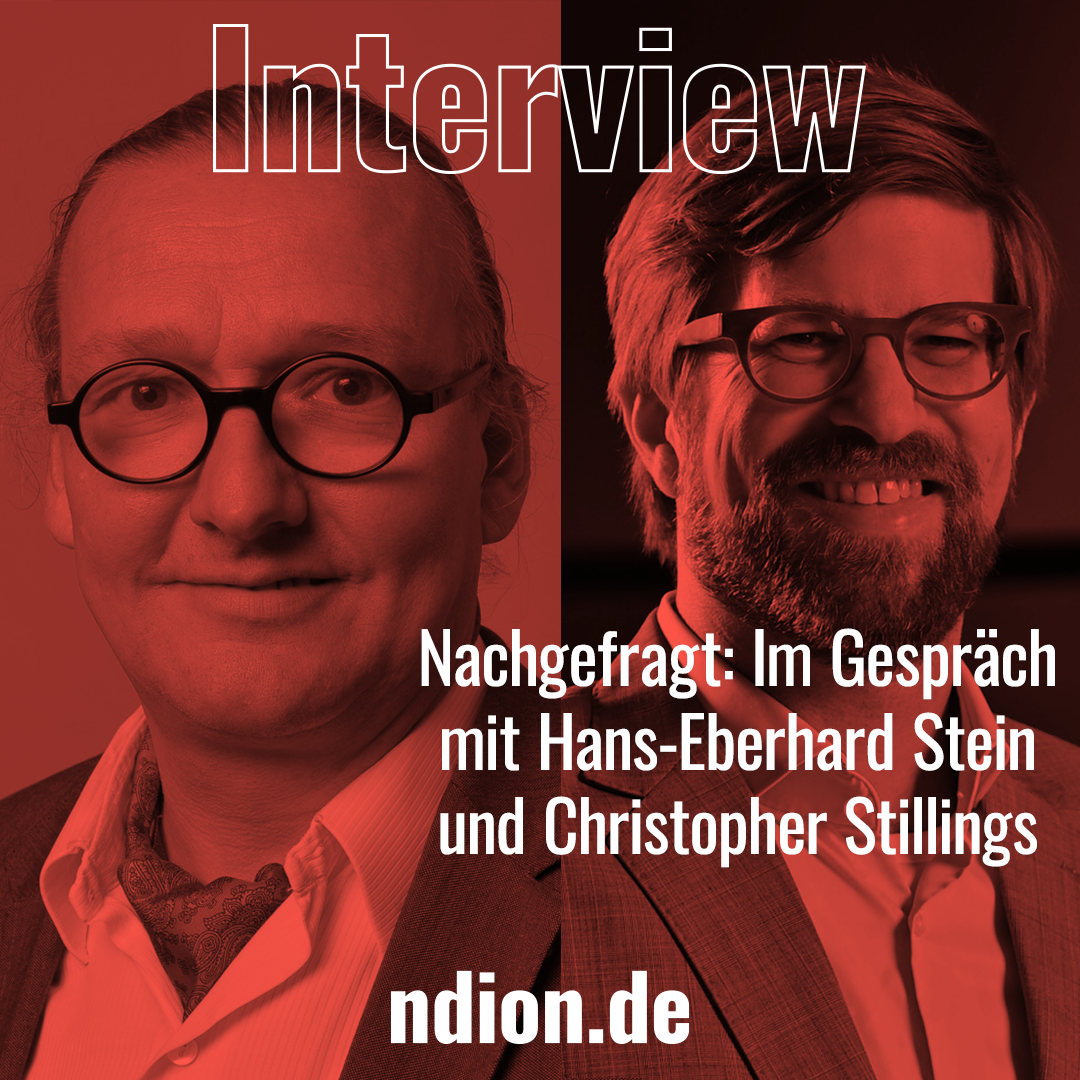 Interview mit Hans-Eberhard Stein und Christopher Stilling, Covestro