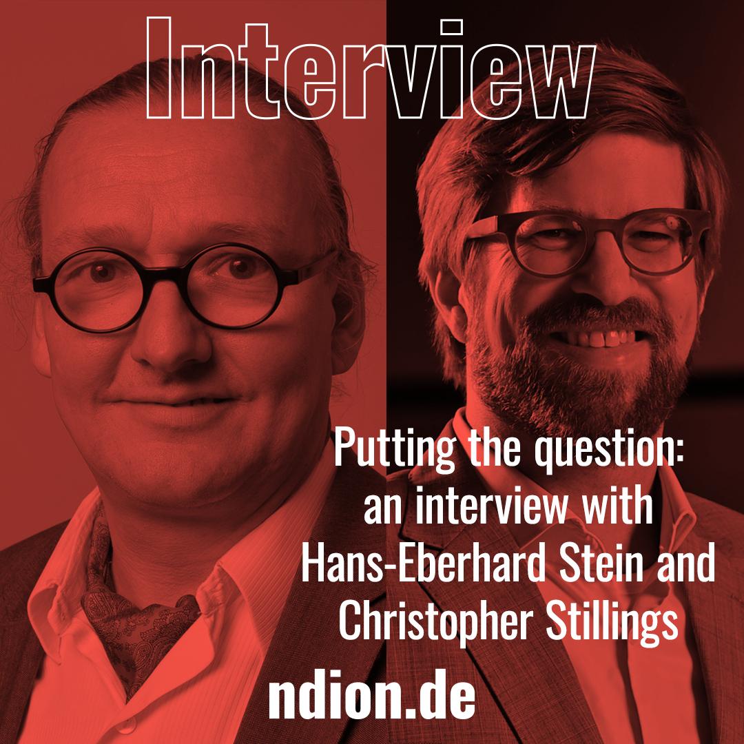 Interview mit Hans-Eberhard Stein und Christopher Stilling, Covestro, Mitglied der Stiftung Rat für Formgebung