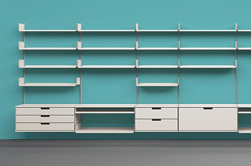 shelf system (RZ 60) by Dieter Rams