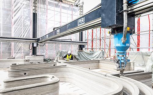 3D concrete printing technology