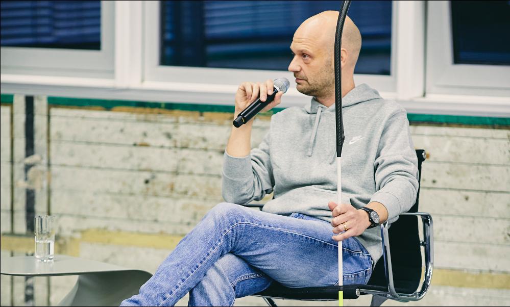 Design Talk 2, 2020. Tobias Stuntebeck, © Christof Jakob