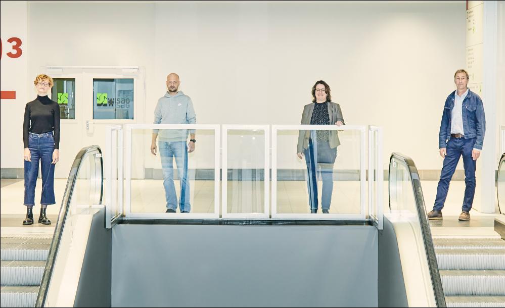 Design Talk 2, 2020. Carina Haumering, Tobias Stuntebeck, Prof. Dr. Ing. Petra K. Schäfer, Stephan Ott, © Christof Jakob