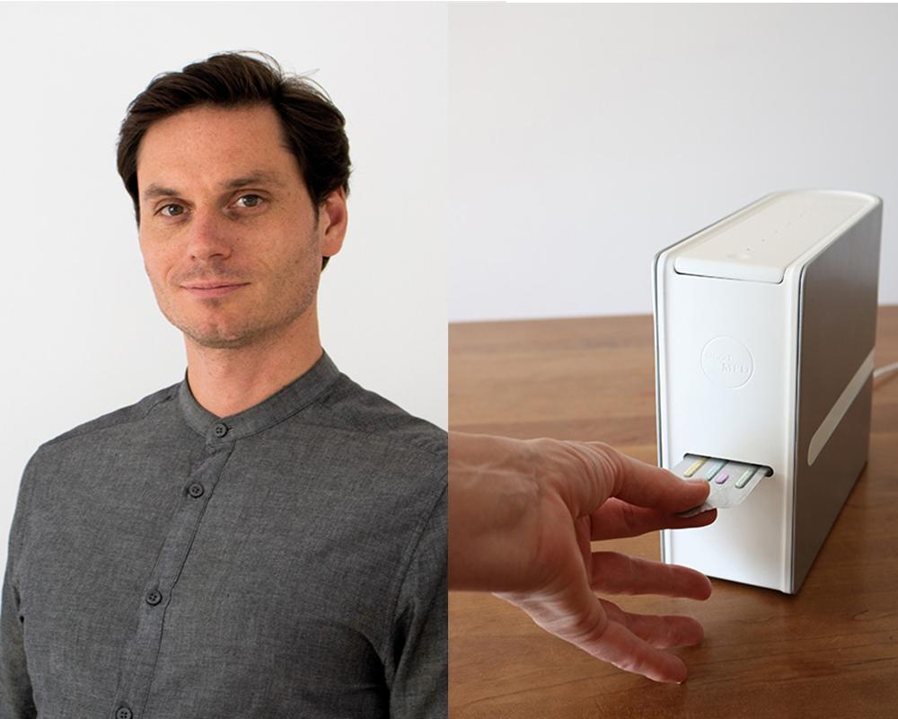 Nachwuchsdesigner Kilian Frieling und sein Projekt Smart Medication