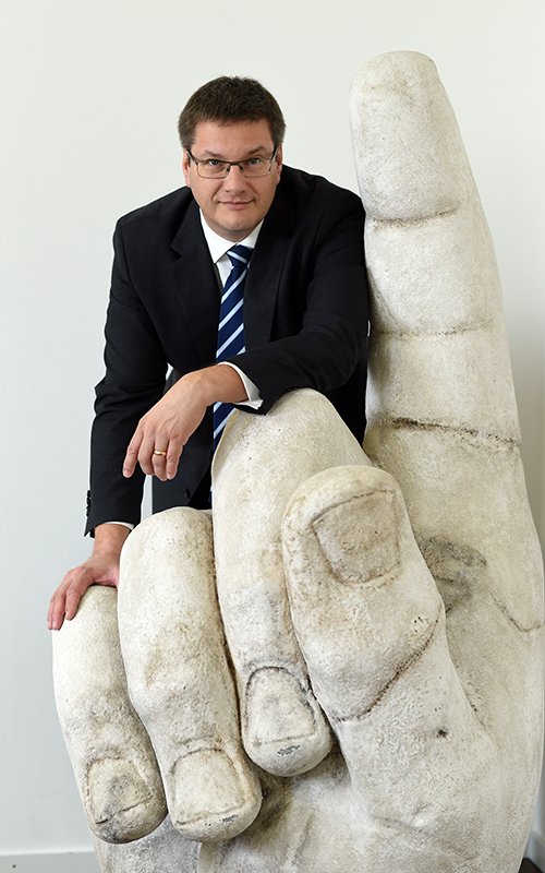 Prof. Eckart Köhne von der Expothek