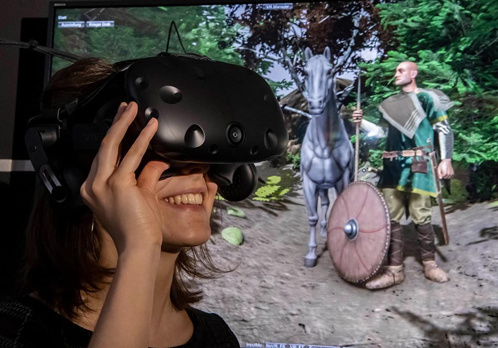 Geschichte mit der VR-Brille erleben