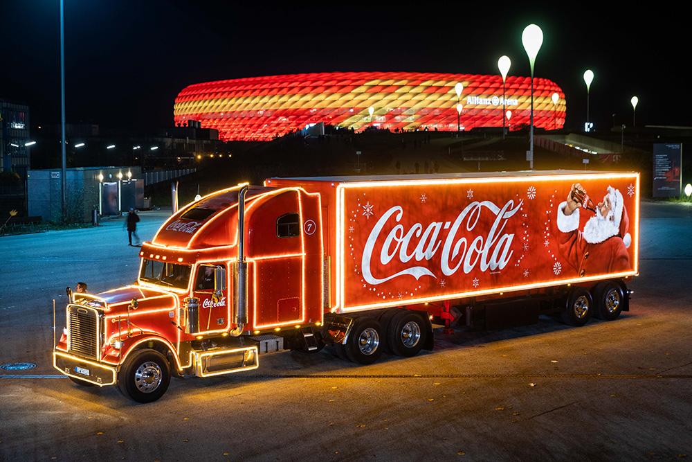 Coka Cola Weihnachtstruck