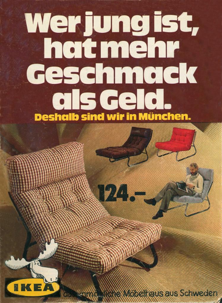 Deutscher IKEA Katalog 1974