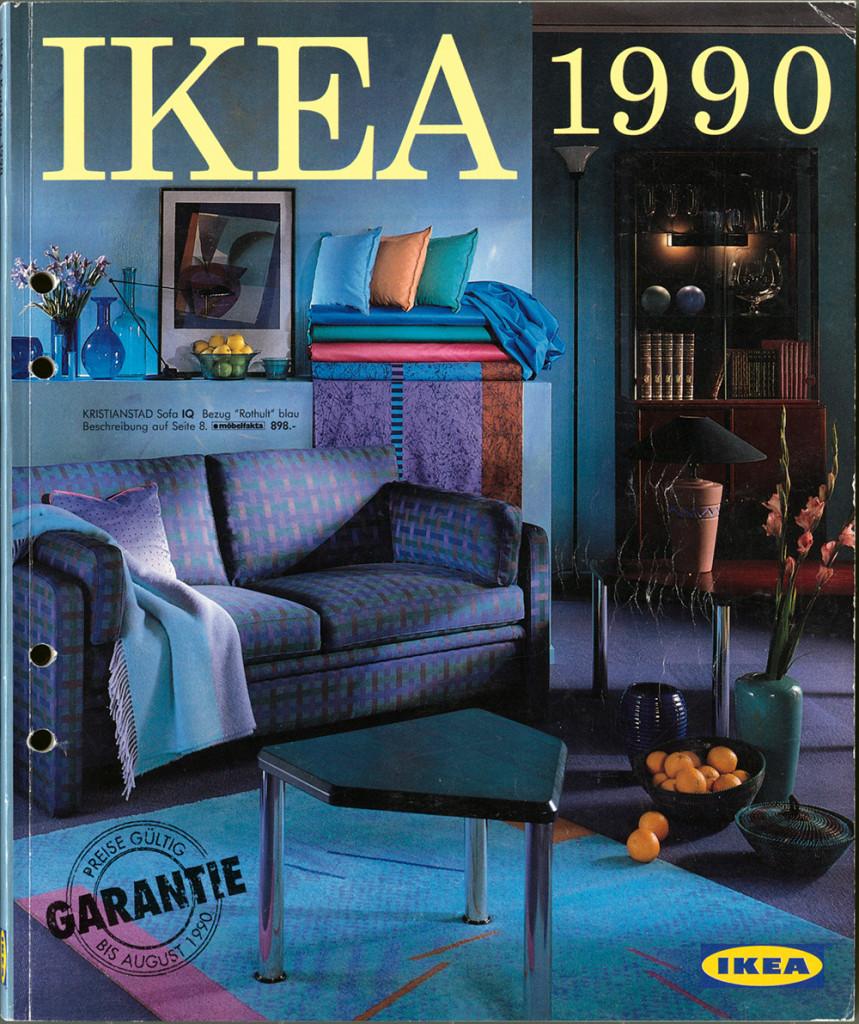 Deutscher IKEA Katalog 1990