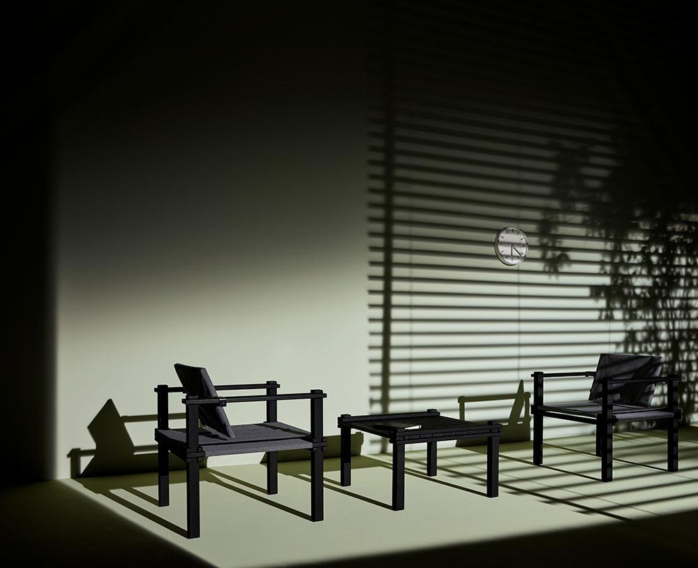 COR Farmer Chair + Table