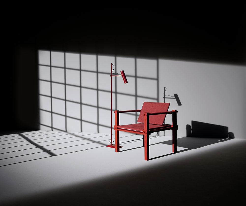 COR Farmer Chair red