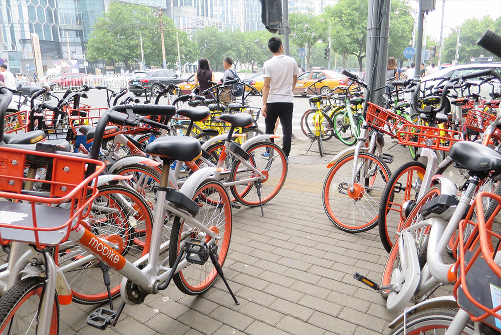Fahrräder in Beijing