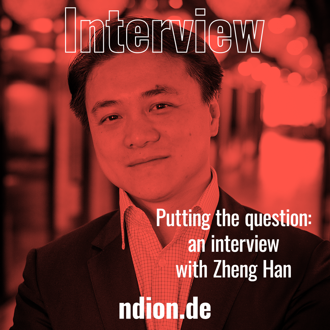 Prof. Dr. Zheng Han interviewed by Bernd Müller and Thomas Wagner
