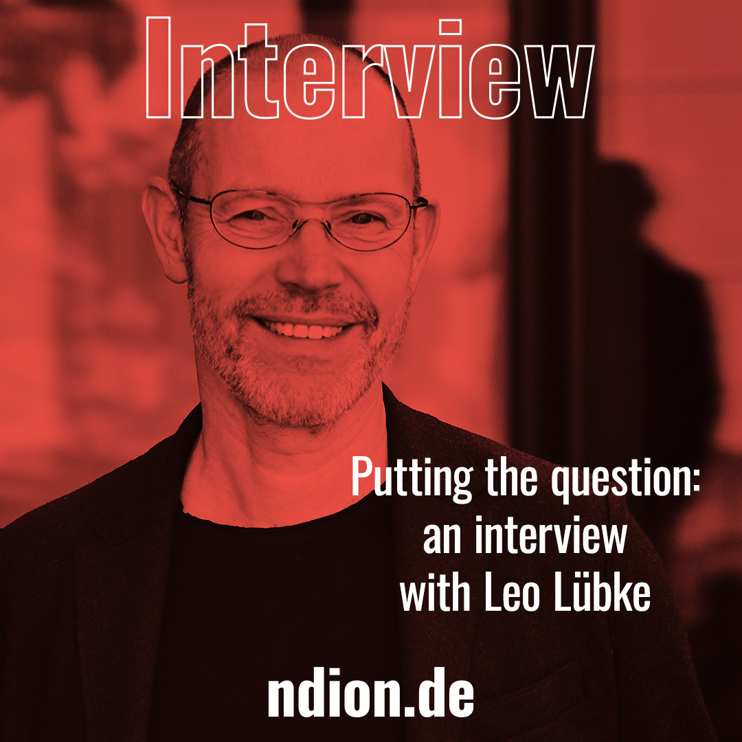 An Interview with Leo Lübke