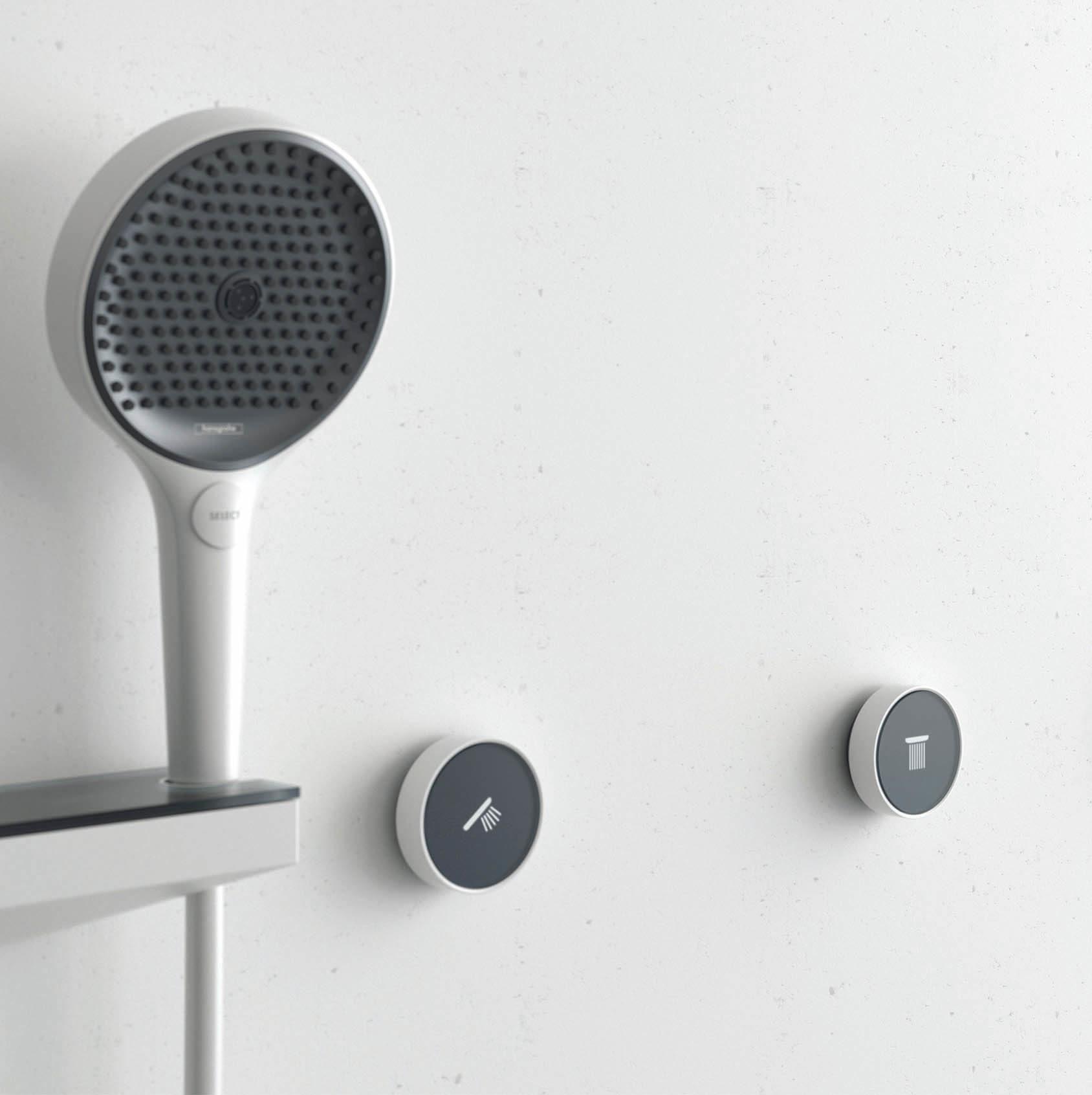 RainButton Bedienelemente für die Dusche