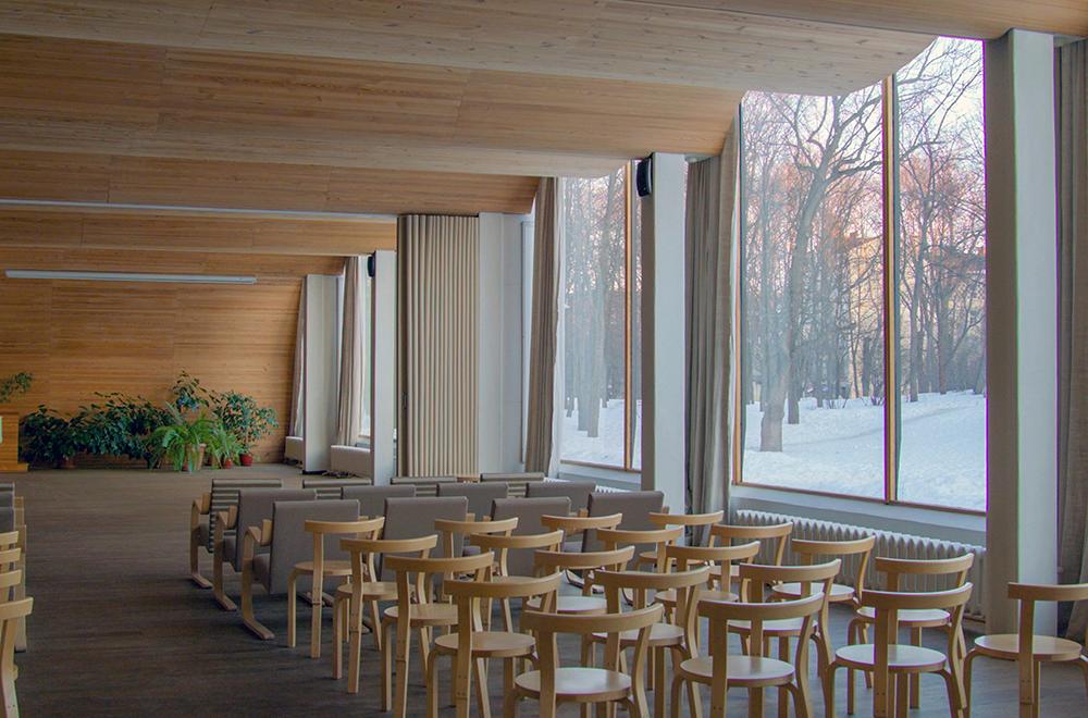 Alvar Aaltos modernen Interpretationen von romanischen Foren oder venezianischen Amphitheatern