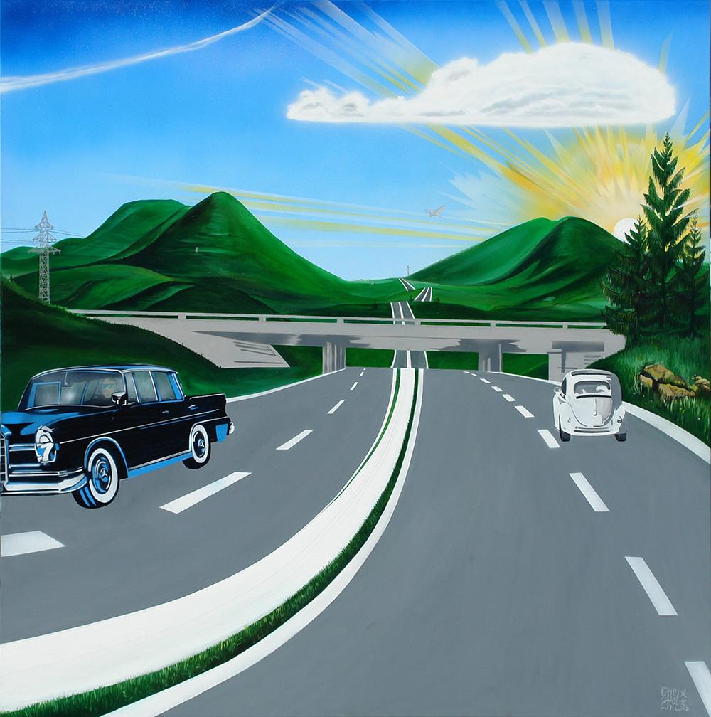 Emil Schult Autobahn