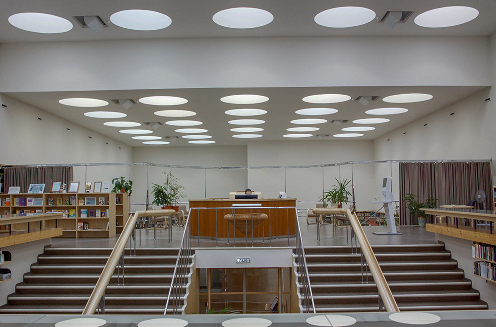 The library in Vyborg, Russia, today bears Aalto's name