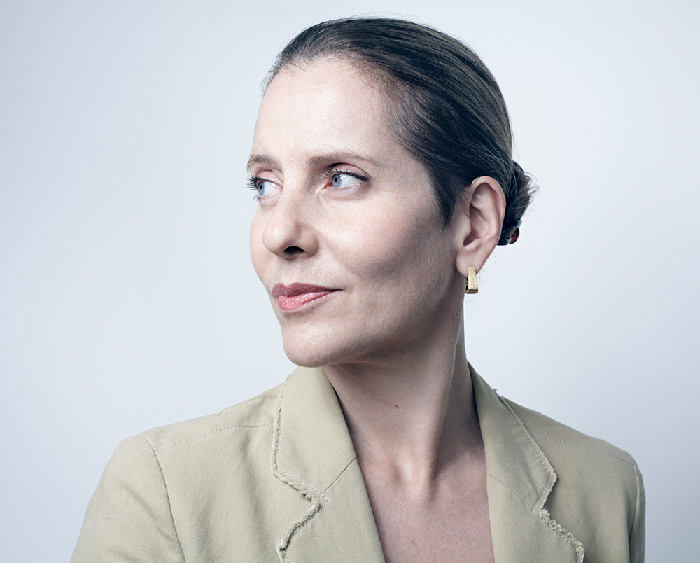 Paola Antonelli, architect and senior curator of the Museum of Modern Art (MoMA) in New York.