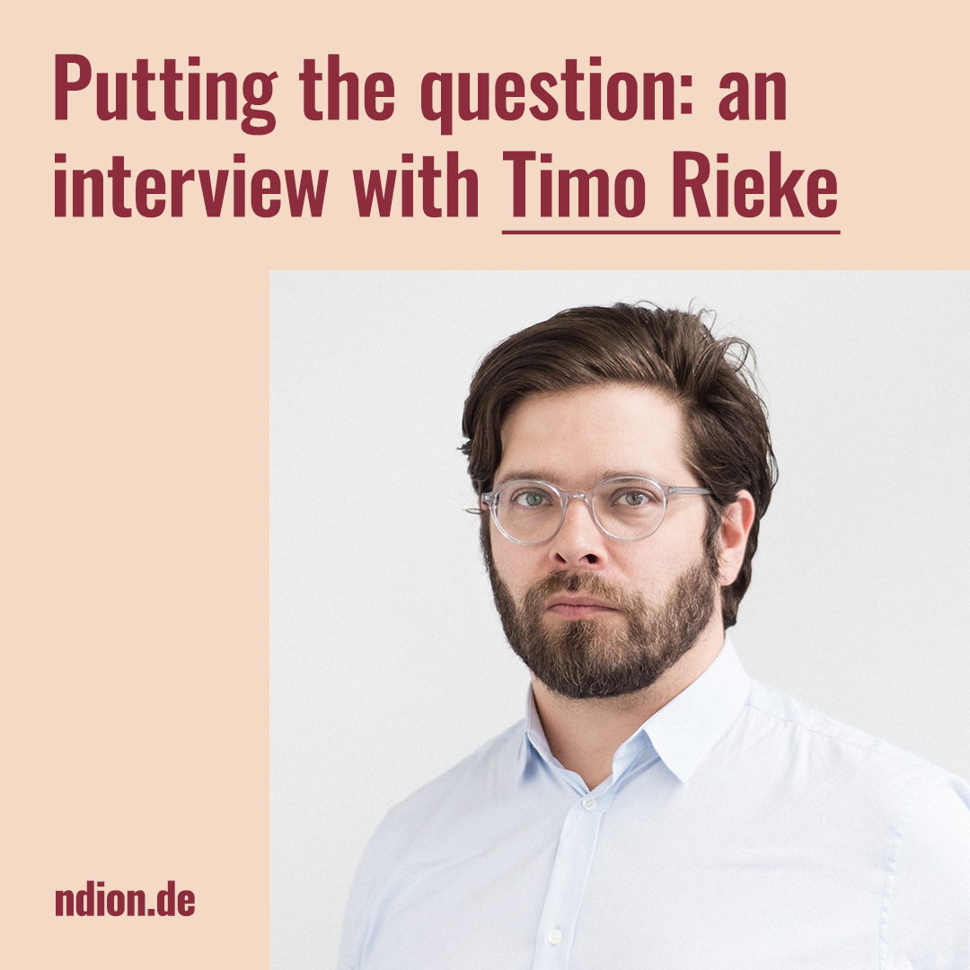 Interview with Timo Rieke