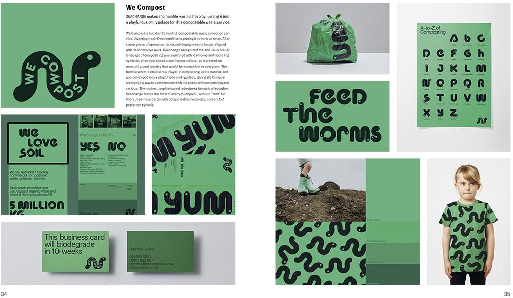 Brand New Brand, gestalten 2021 -Seachange for We Compost