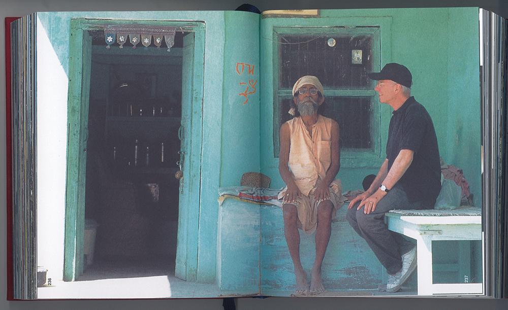 Rolf Fehlbaum in Indien, 1997