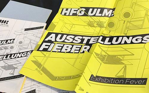 "Exhibition ""HfG Ulm: Exhibition Fever"""