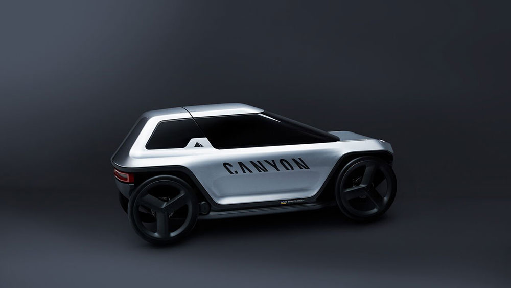 "Premium-Velomobil ""Future Mobility Concept"""