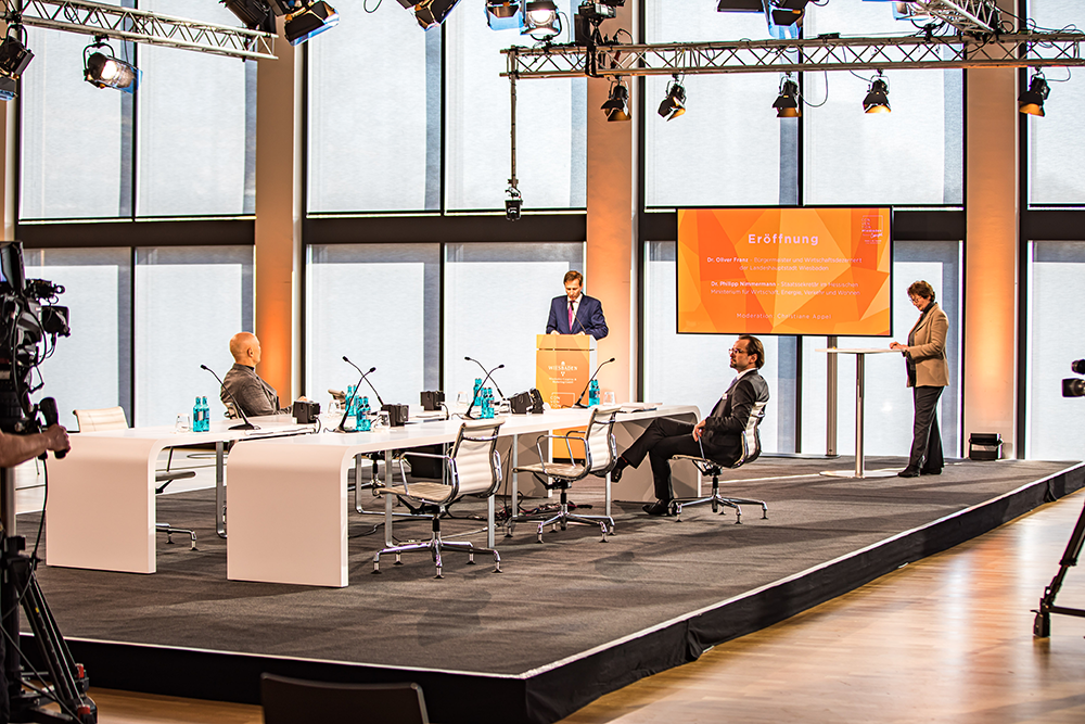 """Events after Corona: """"Paths to the Future"""" - Summit in Wiesbaden"""