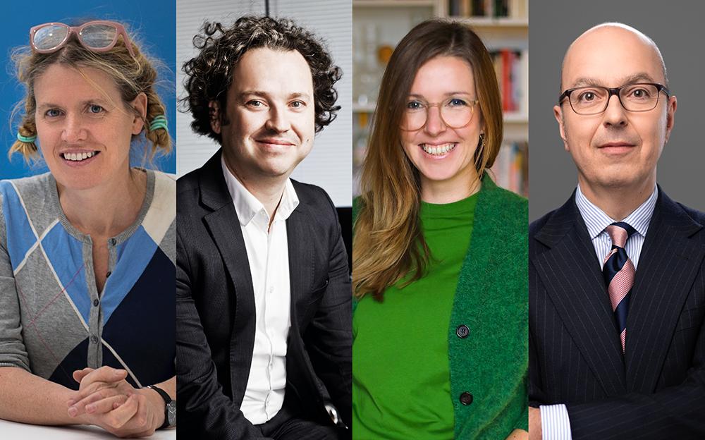 Experten-Talk Nachhaltigkeit: Mimi Sewalski, Ineke Hans, Sascha Peters, Lutz Dietzold