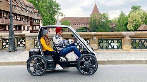 Bio-Hybrid velomobile