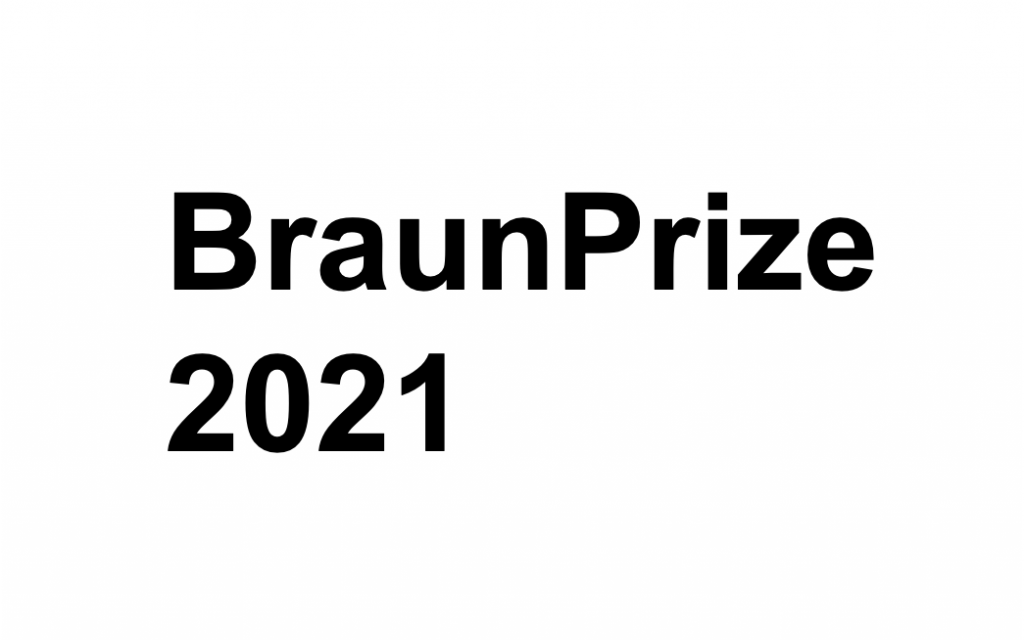 BraunPrize 2021