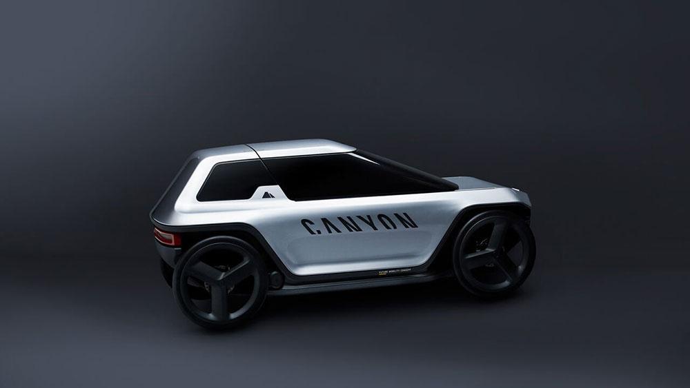 """The premium velomobile """"Future Mobility Concept"""""""