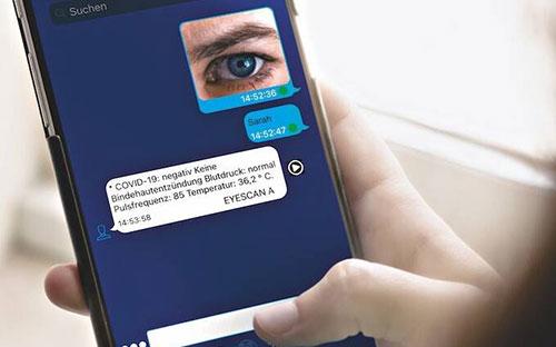 Iris-Scan mit SEMIC EyeScan®