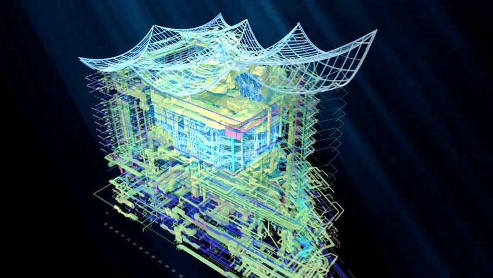 Elbphilharmonie wirde mit BIM errichtet