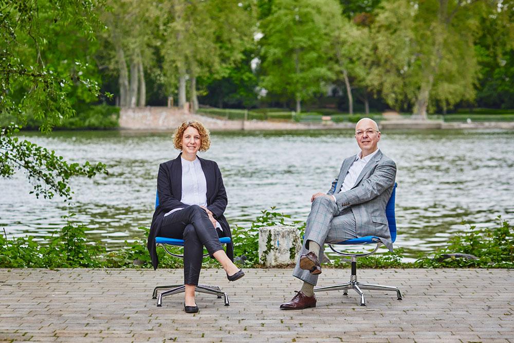 Design Networking Hub: Julia Kostial und Lutz Dietzold im Gespräch.