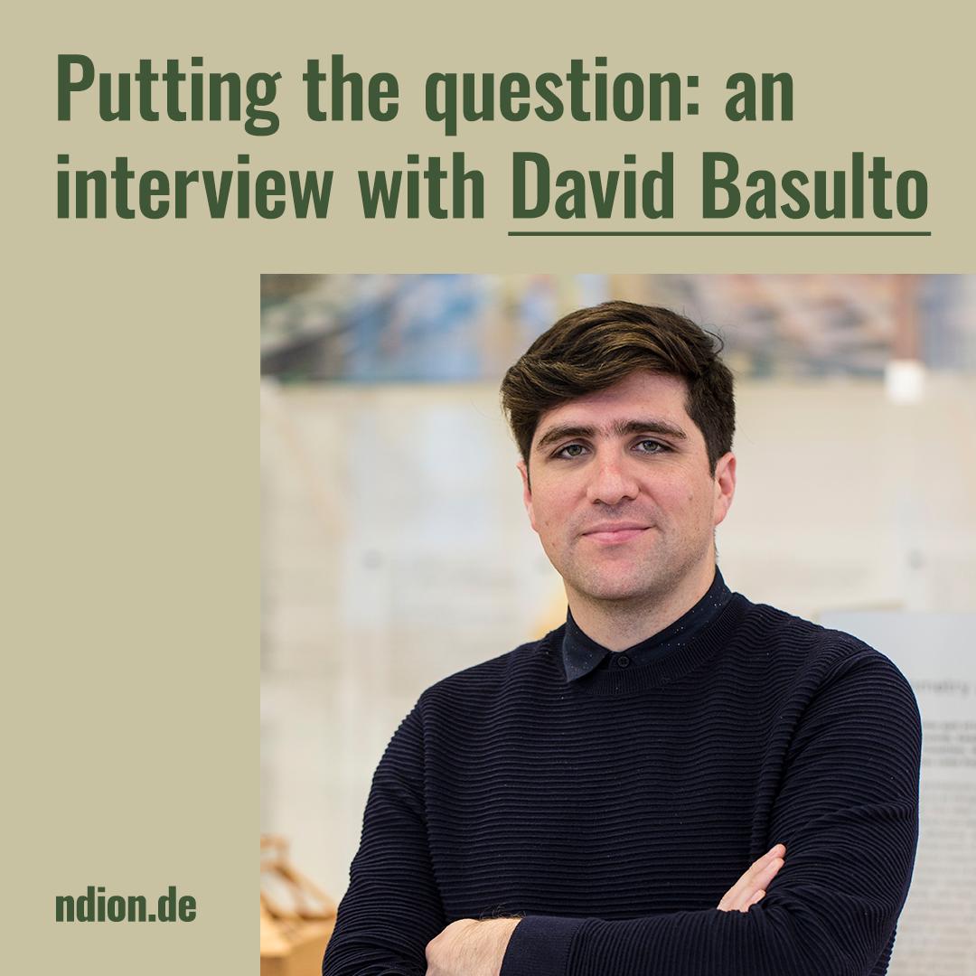 Putting the question: David Basulto