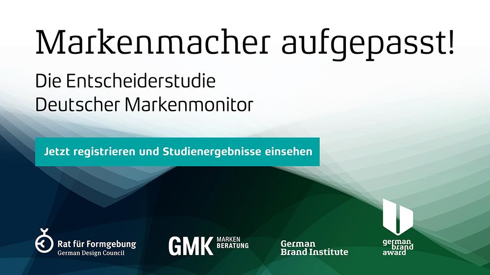 Jetzt registrieren für den Deutschen Markenmonitor