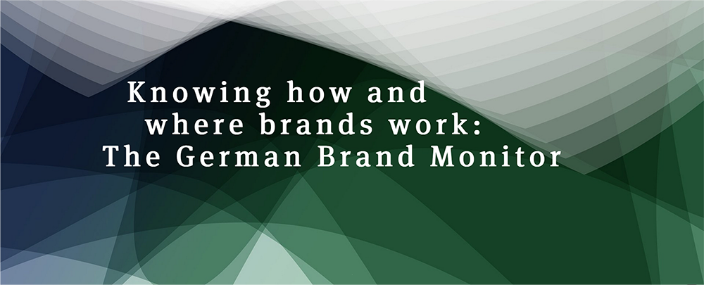 The German Brand Monitor: Now as an online tool.