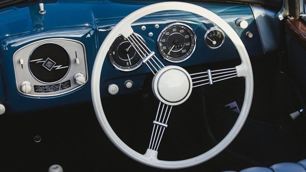 Porsche Vintage Interieur