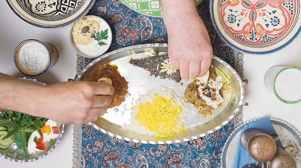 "Screenshot Film ""Finger and Food"""