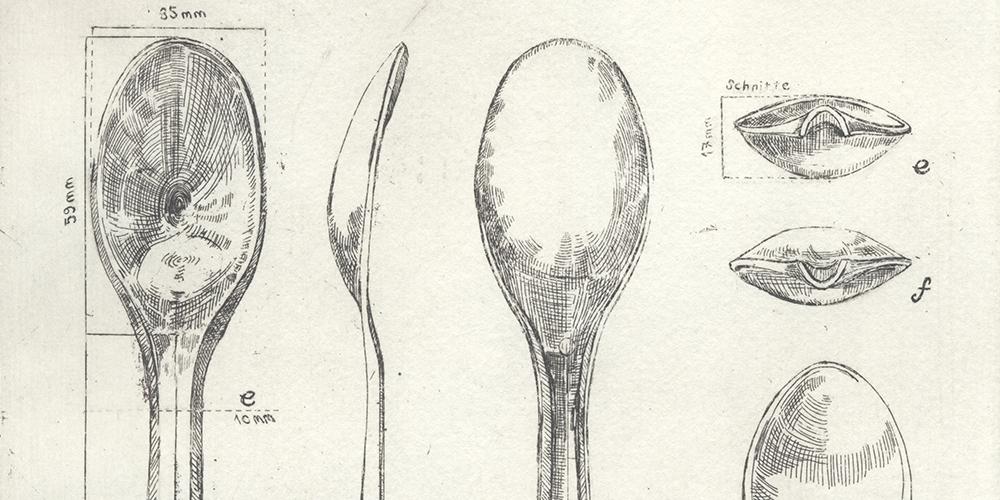 Banner Spoon Archaeology Grafik