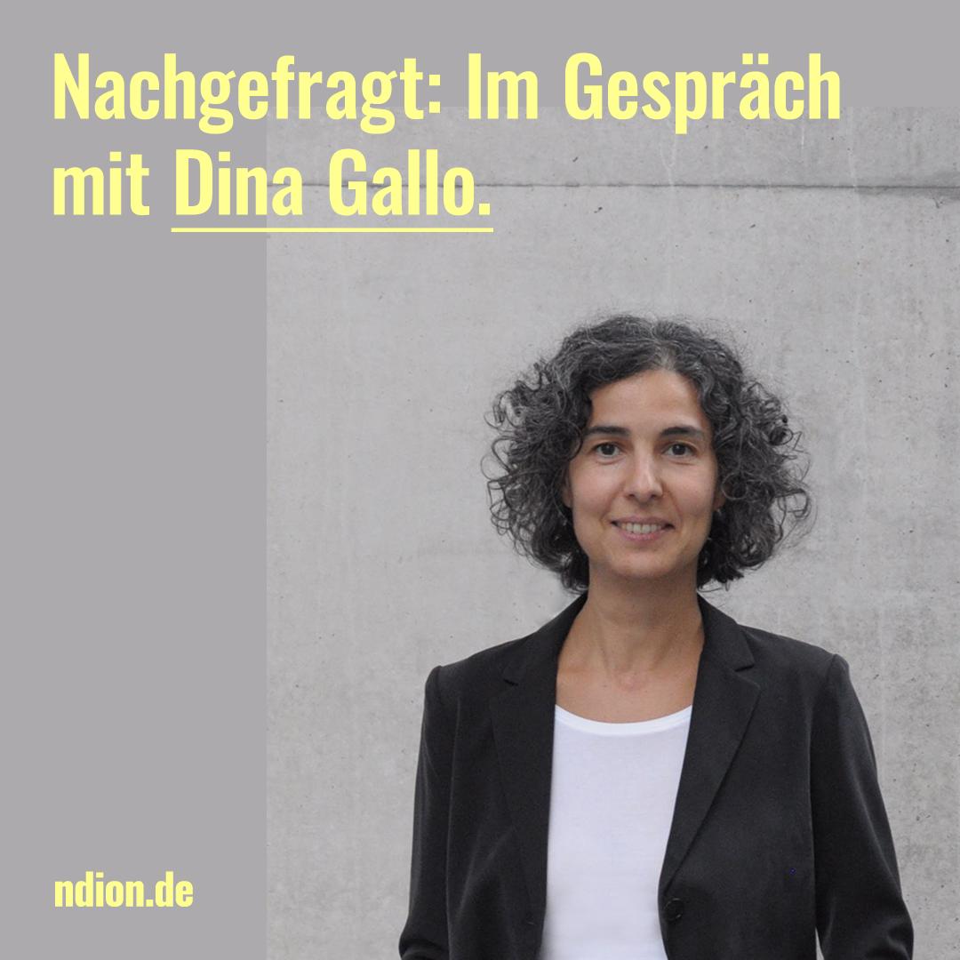 Nachgefragt: Dina Gallo, Trumpf