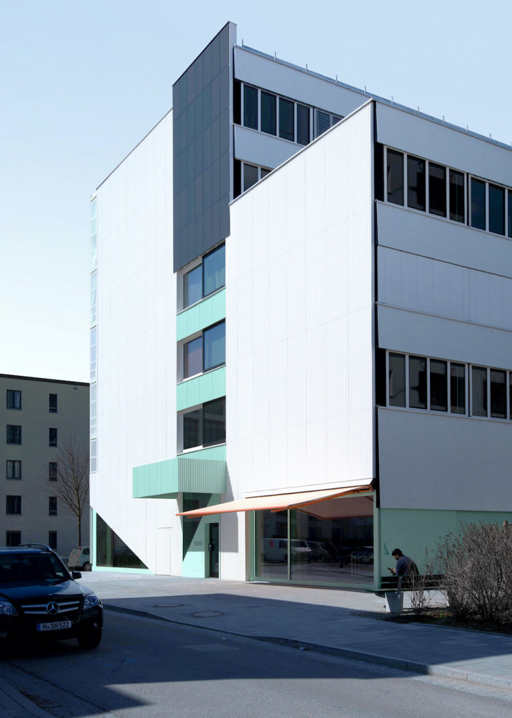 Munich housing project San Riemo